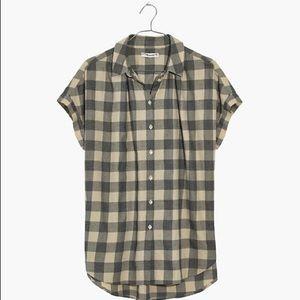 Madewell Central Shirt Buffalo Check